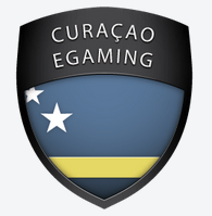 Logo of Curacao eGaming where 1xbet holds a gambling license