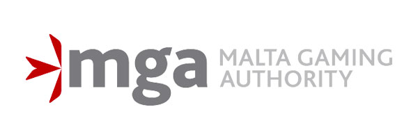 Logo of Malta Gaming Authority, where Rizk holds a license