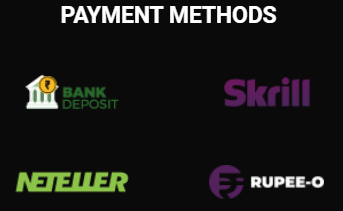Payment methods accepted at JeetWin
