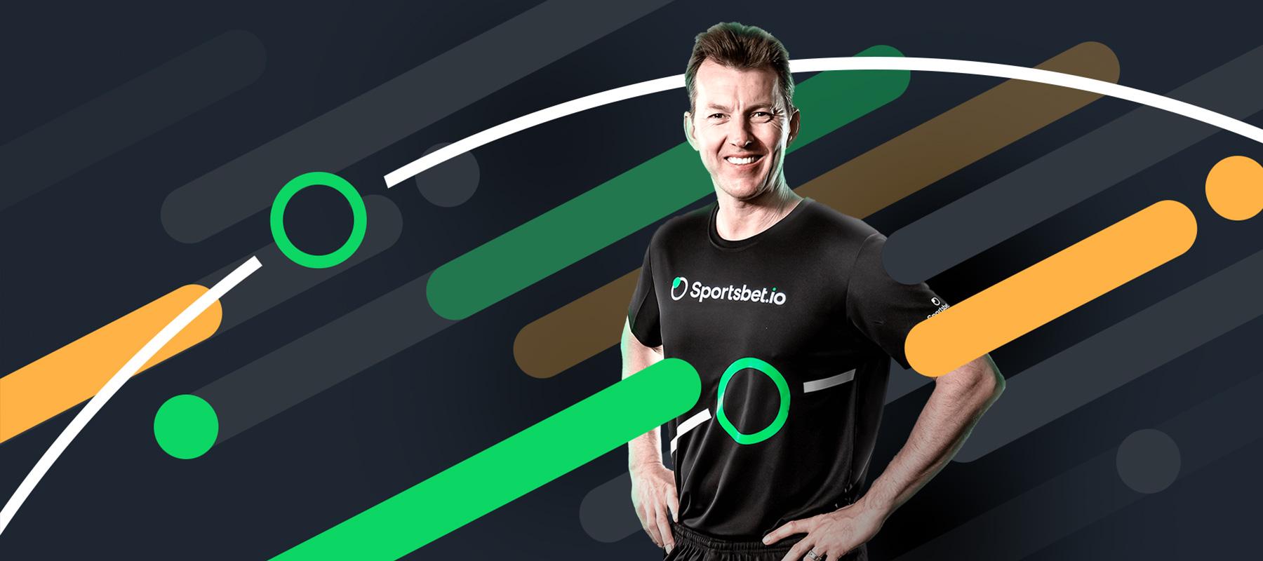 Brett Lee signed up for Sportsbet.io